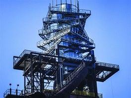 Vysoká pec č. 1 – nástavba – Bolt Tower v Ostravě