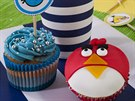 Cupcakes s motivem Angry Birds