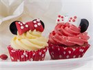 Cupcakes s motivem Mickey a Minnie Mouse