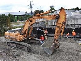 Oprava dálničního přivaděče v Ostravě-Přívoze na D1 potrvá do konce října.