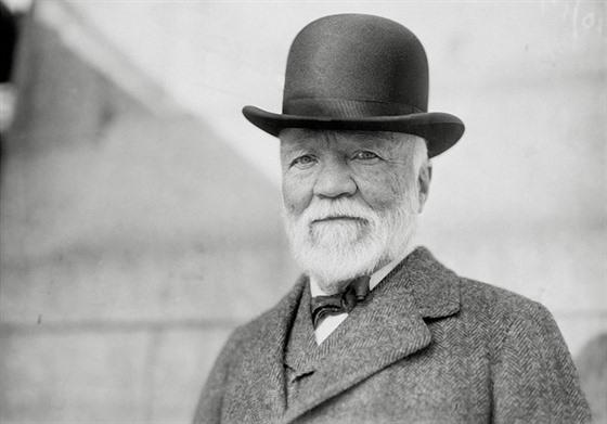 Carnegie pohádkově zbohatl na americké občanské válce.