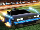 Rocket League - Back to the Future Car Pack