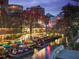 San Antonio, Texas, promenáda Riverwalk