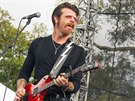 Jesse Hughes z kapely Eagles of Death Metal