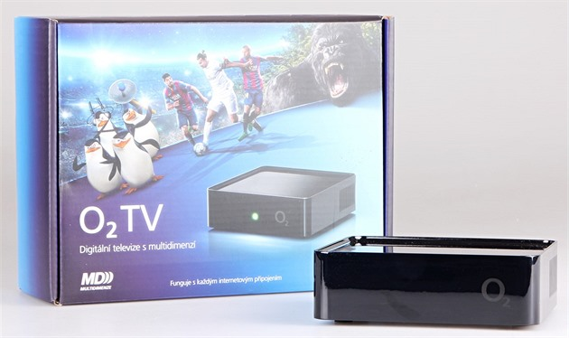 O2TV set-top box.