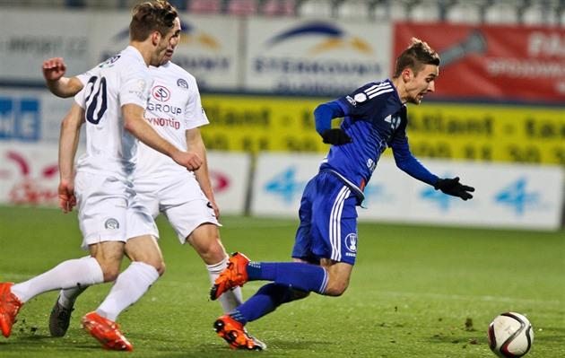 Olomouc – Slovácko 2: 0, zwei Tore beim slowakischen Stürmer Malec