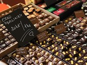 V Jihlavě se uskutečnil festival čokolády, kde mohli ochutnat čokoládový kebab...
