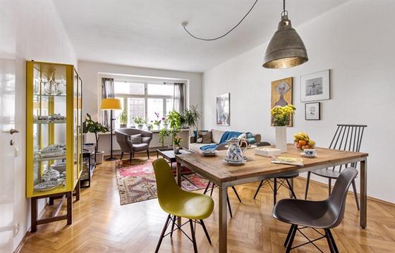 3780e2023 Skvěle zařízený byt věcmi z IKEA i úlovky z inzerátů. Podívejte se ...