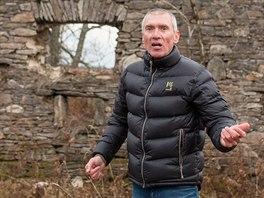 Developer a bývalý cyklokrosový závodník Roman Kreuziger ukazuje pozemky na...