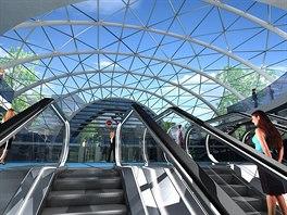 Vizualizace navrhovaných stanic metra D