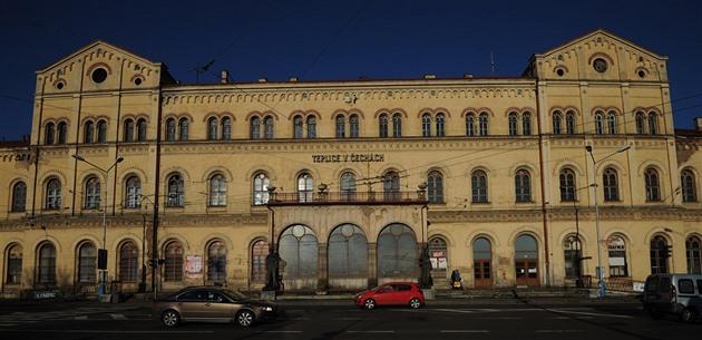 Teplice – Plzeň Photo: Zanedbané Nádraží Získá Nového Majitele. Teplice Doufají