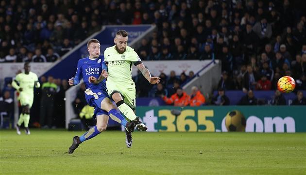 Leicester bleibt hinter Arsenal mit Manchester City Remis