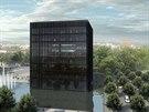 Černá kostka. Projekt Moravskoslezské vědecké knihovny v Ostravě; © Kuba, Pilař...