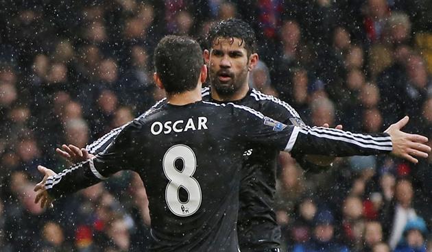 Chelsea fegte den Crystal Palace, Tottenham mit Everton gebunden