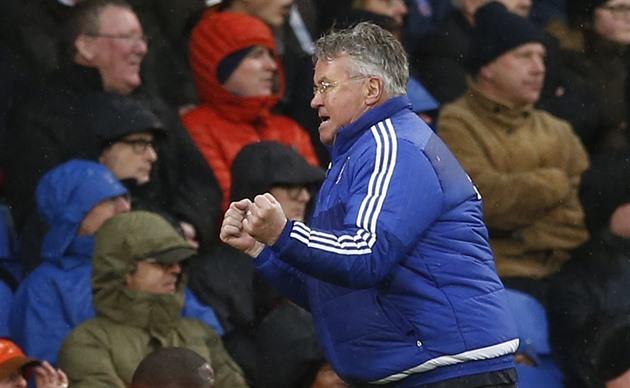 Hiddink änderte seine Meinung. Der vierte Platz ist immer noch möglich, glaubt Chelsea