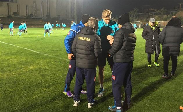 Der Fußballspieler Procházka wurde Osmanlispor Spieler