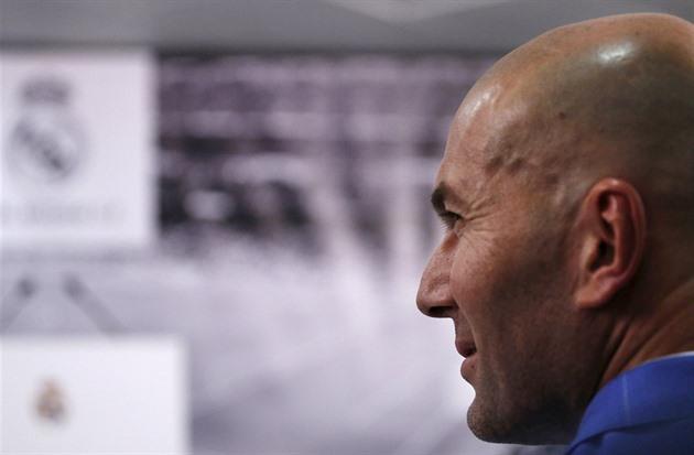 Coach Real wird nicht mehr lachende Spieler sein. Ich bin in meinem Herzen, sagte Zidane