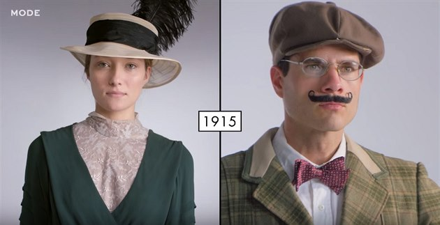 VIDEO  Jak se za sto let změnila dámská i pánská móda - iDNES.cz 1bd71a7cc2