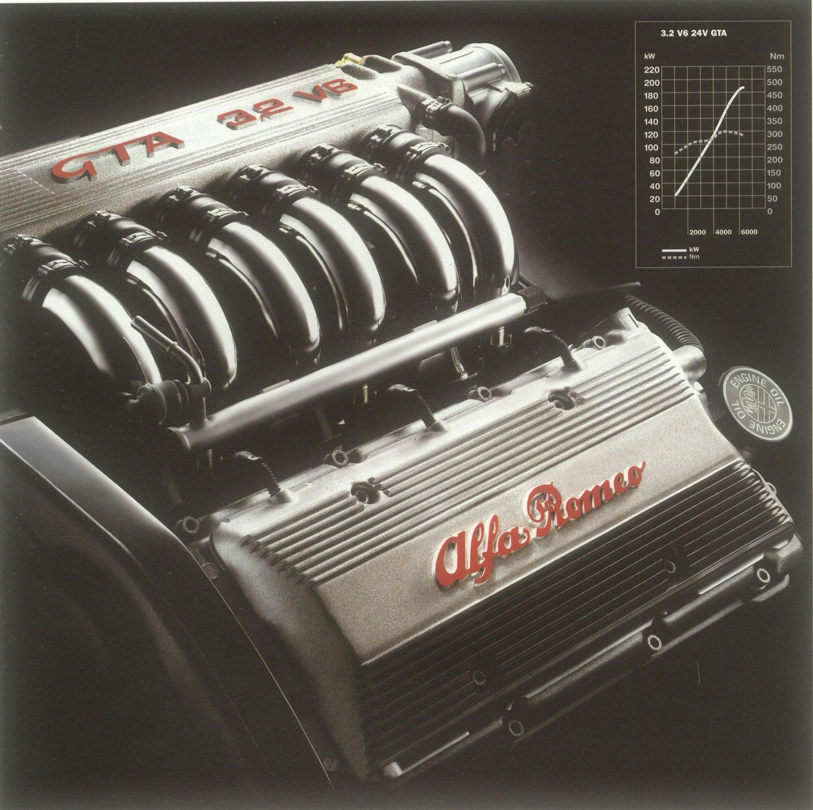 Fotogalerie Alfa Romeo V6 Busso ve verzi pro model 156 GTA