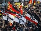 Demonstrace odpůrců imigrace v Kolíně nad Rýnem (9. ledna 2015)