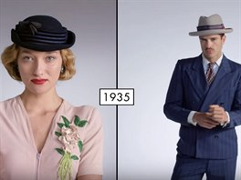 8a8cb6bd7 VIDEO: Jak se za sto let změnila dámská i pánská móda - iDNES.cz