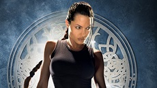 Angelina Jolie jako Lara Croft ve filmu Tomb Raider