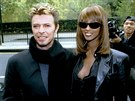 David Bowie a Iman (New York, 7. listopadu 1995)