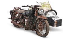 1938 Brough Superior 982cc SS80 Project with Petrol Tube Sidecar. Odhadovaná...