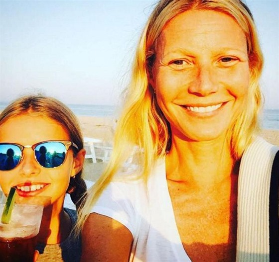Gwyneth Paltrow s dcerou Apple