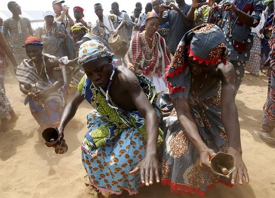 černé africké sex dívky