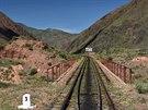 Železniční trať z Biškeku k jezeru Issyk-kul