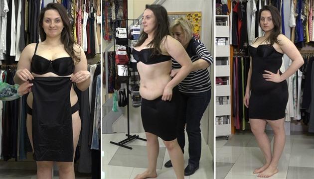 VIDEO  Jak na stahovací prádlo. Volte menší velikost 8778b25566