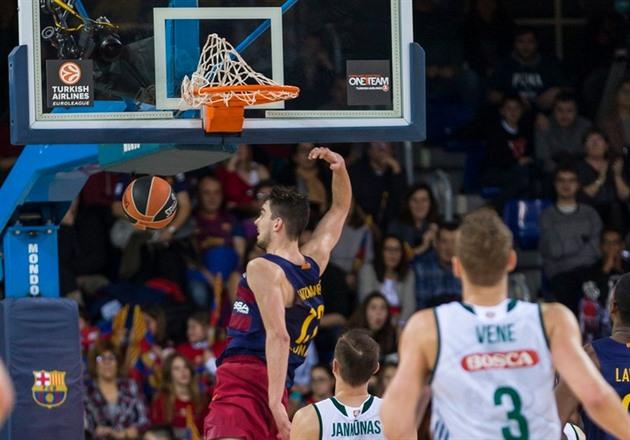 Žalgiris limpo. Satoranski ajudou o Barcelona a superar um rival