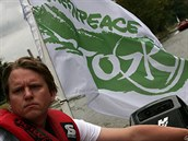 Jan Freidinger z Greenpeace.