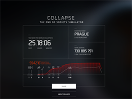 Collapse: The End of Society Simulator