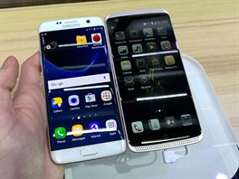 Samsung Galaxy S7 edge a ZTE Axon Elite