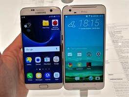 Samsung Galaxy S7 edge a HTC One A9