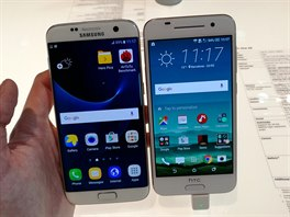 Samsung Galaxy S7 edge a HTC One X9