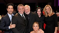 David Schwimmer, Matt LeBlanc, Jennifer Anistonová, Courteney Coxová, Lisa...