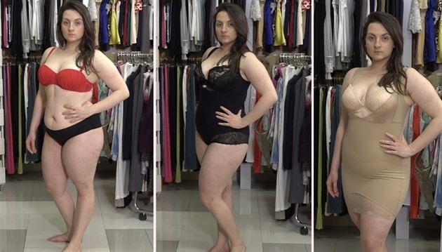 VIDEO  I stahovací prádlo může být sexy 0819765a77