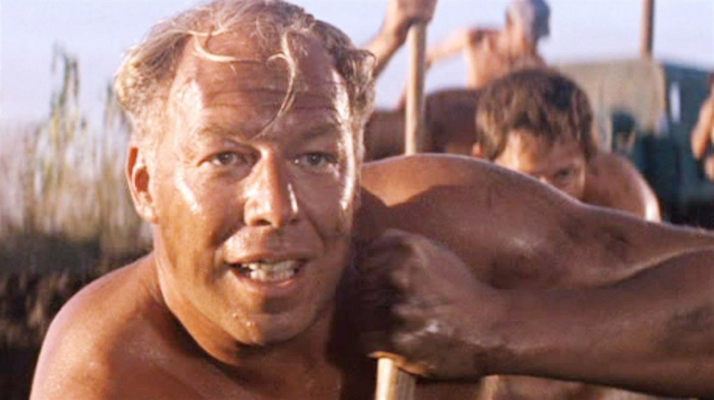 George Kennedy ve filmu Frajer Luke