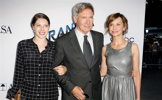 Harrison Ford s dcerou a partnerkou