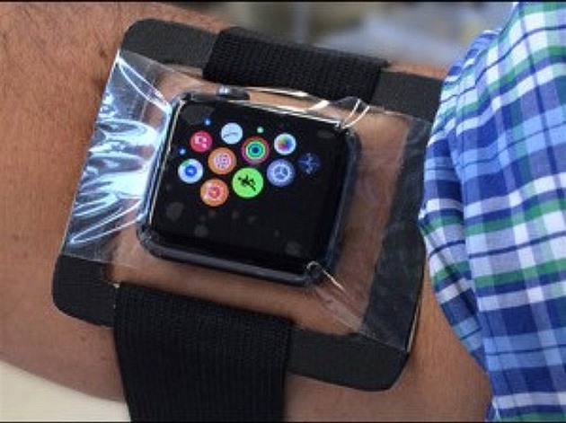 """Hacknuté"" Apple Watch"