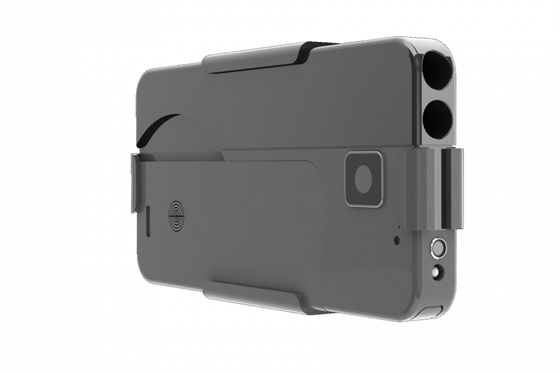 Pistole jako pro Jamese Bonda je maskovaná za smartphone 0fb0ae9e80f