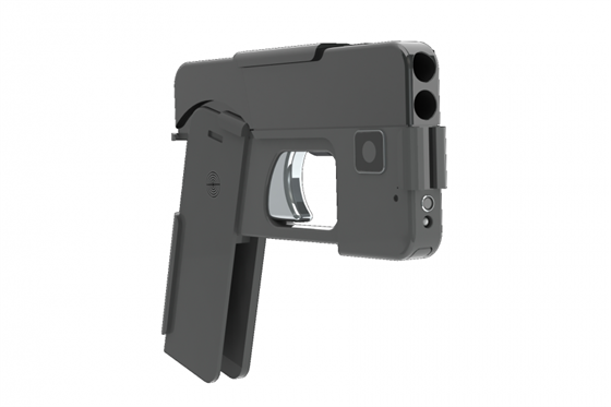 Pistole jako pro Jamese Bonda je maskovaná za smartphone - iDNES.cz 8f3c84860c3