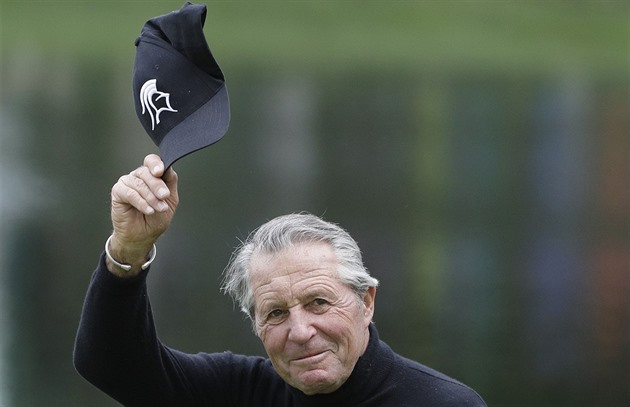Gary Player při exhibici před Masters
