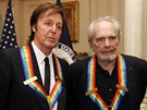Paul McCartney a Merle Haggard
