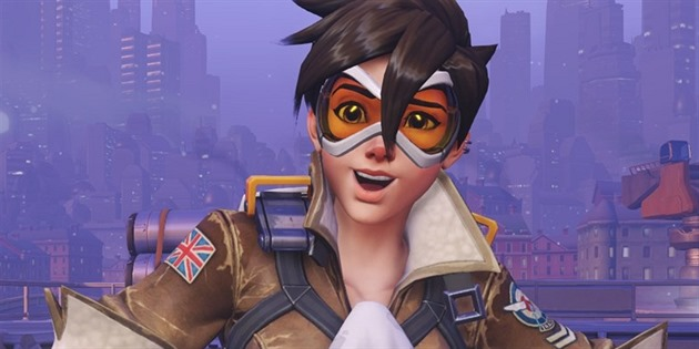 Tracer ve hře Overwatch