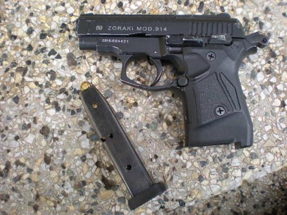 Plynové pistole z Česka slouží po úpravě na ostré náboje britským zločincům 2f4127829c
