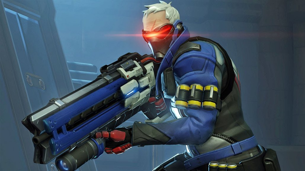 Soldier 76  ze hry Overwatch
